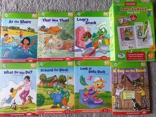 Leapfrog Learn to Read Bookset 3