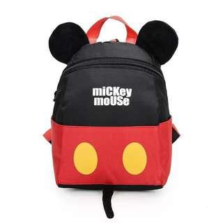 🚚 [SALE] Disney Baby / Toddler Mickey Minnie Mouse Backpack Bag with Harness