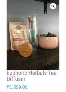 EUPHORIC HERBAL TEA DIFFUSER