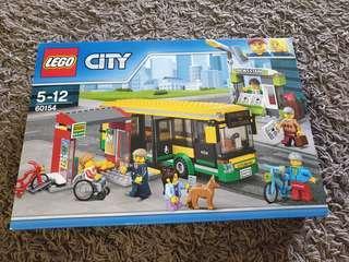 BNIB Lego City 60154 Bus Station