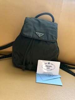 Authentic prada mini backpack