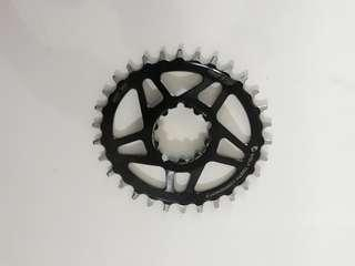 Wolftooth 30t oval boost remove from sram nx