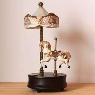Carousell Music Box Horse
