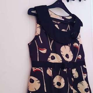 Elegant Flowery Dress
