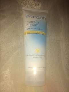 Wardah creamy foam