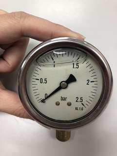 🚚 Pressure gauge 2.5bar (2.5inch)