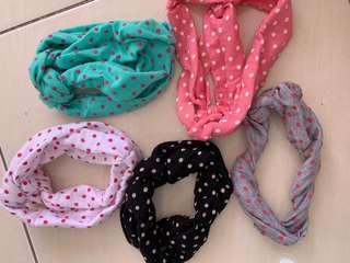 Baby Headband (1 set-5pc)