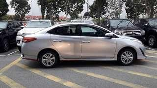 New Toyota Vios For Rent 2019