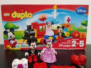 🚚 Lego Duplo 10597 Disney Mickey Mouse Clubhouse Birthday Parade