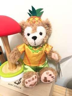 🚚 迪士尼正版鳳梨🍍限量版達菲熊