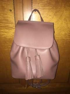 歐洲牌子reserved backpack 藕粉色 香港冇得買 挺身 新正 容量多