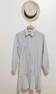 Plaid Polo Dress