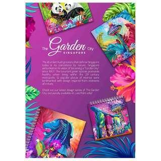 The Garden City Notebook 12 artwork Design