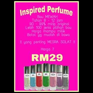 Inspired Perfume 35ml
