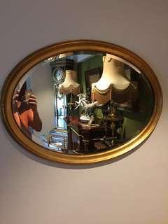🚚 Mirror, oval mirror