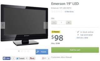 """Emerson 19"""" TV"""