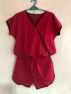(New) Blouse and short terno