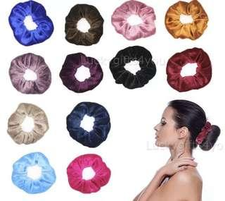 12PK HAIR SCRUNCHIE