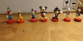Limited edition Disney decoration magnetic bottom 15 psc