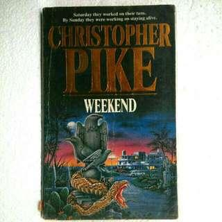 (Vintage Book, Horror) Weekend by Christopher Pike
