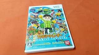 Wii  FAMILY TRAINER  game   MADE IN JAPAN正版碟