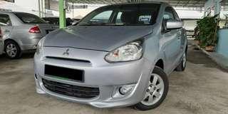 Mitsubishi mirage 1.2 (A) ori condition FULLOAN