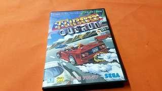 TURBO OUERUN  game  MADE IN JAPAN 正版碟 出價合的即放