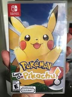 🚚 Let's go Pikachu