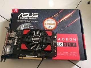 VGA card Asus RX550 4GB