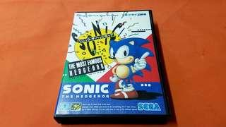 SONIC THE HEDGEHOG  game  MADE IN JAPAN 正版碟