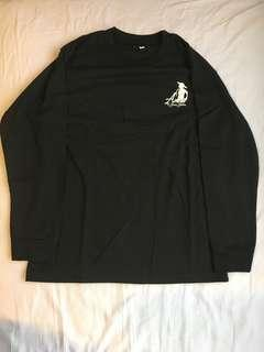 🚚 st. margaret's secondary school anne of green gables long sleeve black tee top