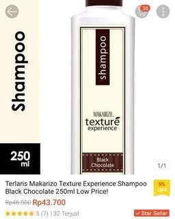 Makarizo Texture Shampoo Black Choco 250ml
