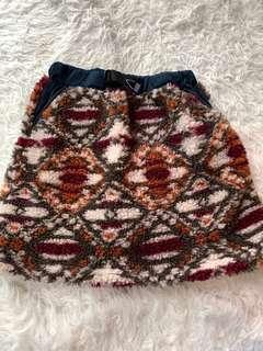 New Sierra designs flurry winter skirt