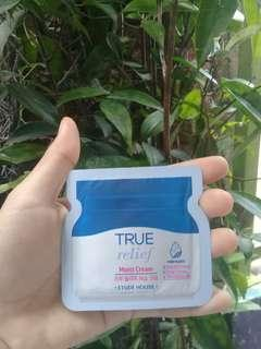 Sample true relief moist cream etude house