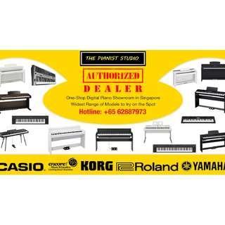 Visit THE PIANIST STUDIO - Piano, Digital Piano, Keyboard, Drum, Guitar Sale
