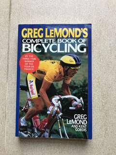 🚚 Greg Lemond Complete Book of Bicycling Cycling