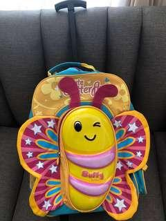 School Bag bisa Backpack and Trolley