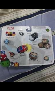 Marvel Spiderman Tsum Tsum Set
