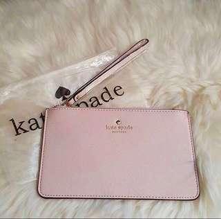Clutch Kate Spade Slim Bee Wristlet Baby Pink