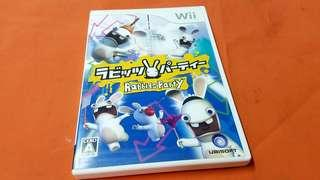 Wii  兔   game  MADE IN JAPAN 正版碟
