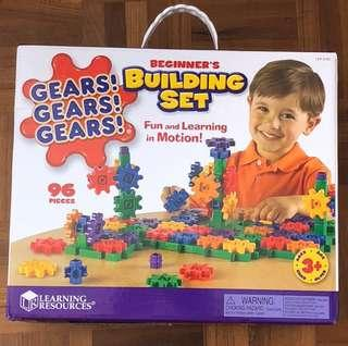 96 pieces of Gears building blocks.