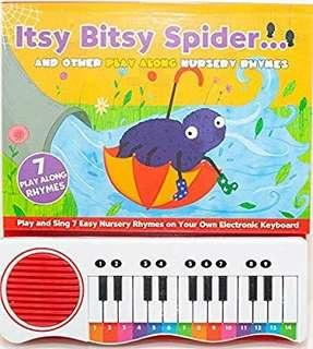 Itsy Bitsy Spider with Piano