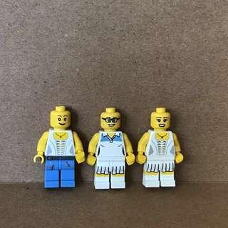 LEGO 8803 Tennis Player Minifigures