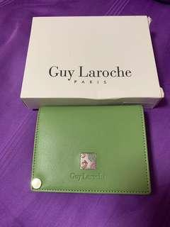Guy Laroche Paris Green Card Holder (price reduced)