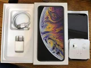九成五新iPhone XS Max 256GB 銀白