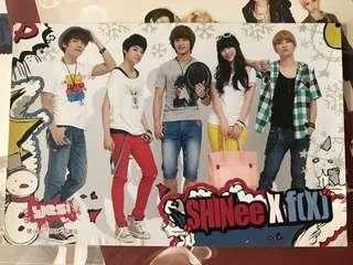 Yes SHINee & f(x) post card