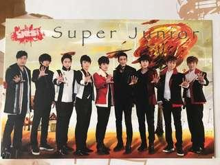 Yes super Junior post card