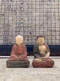 Old Tibetan Wood Sculptures