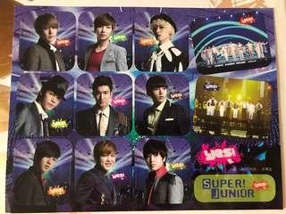 Yes super Junior 贴纸