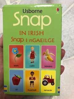 Irish flash card
